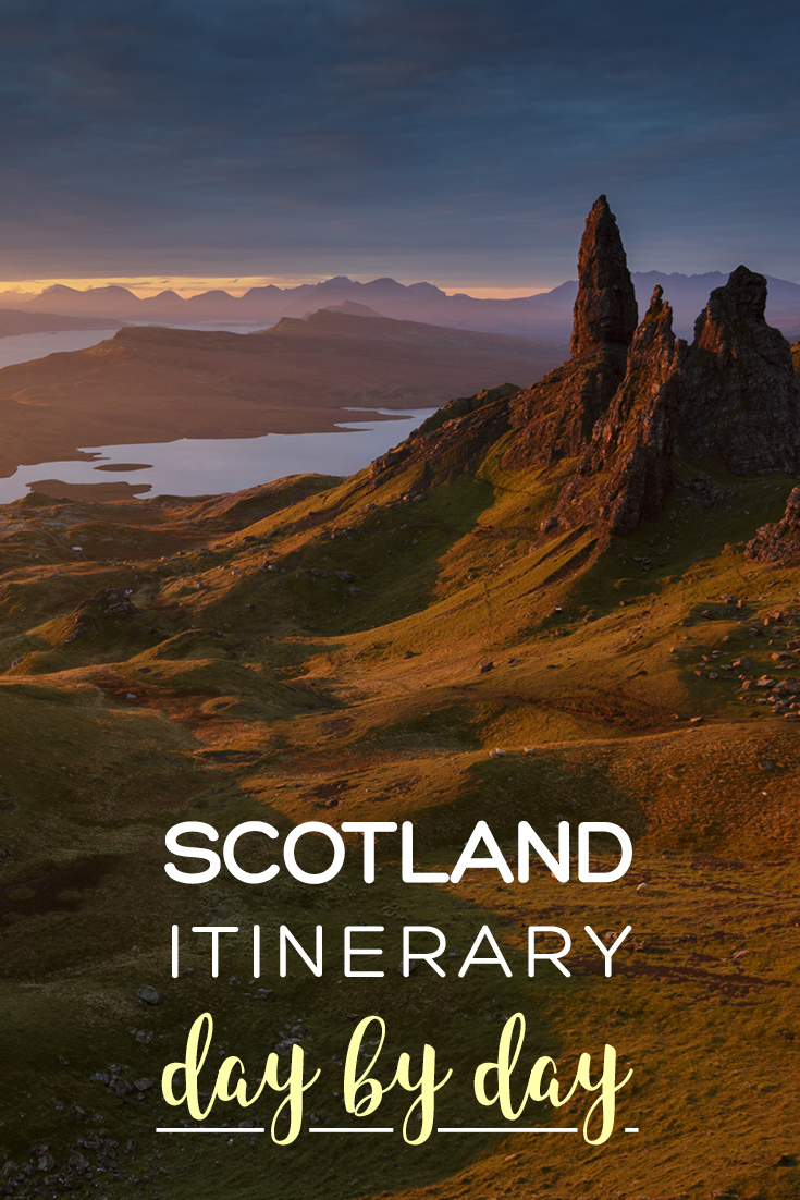 Scotland itinerary day-by-day