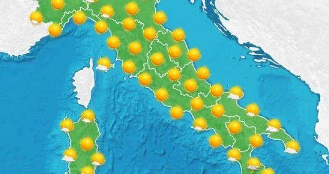 Previsioni Meteo Previsioni Meteo e Almanacco del Giorno di Sabato 13 Giugno