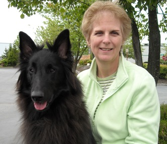 Kathy Lang Of Family Dog Training Center With Her Belgian Sheepdog Tory
