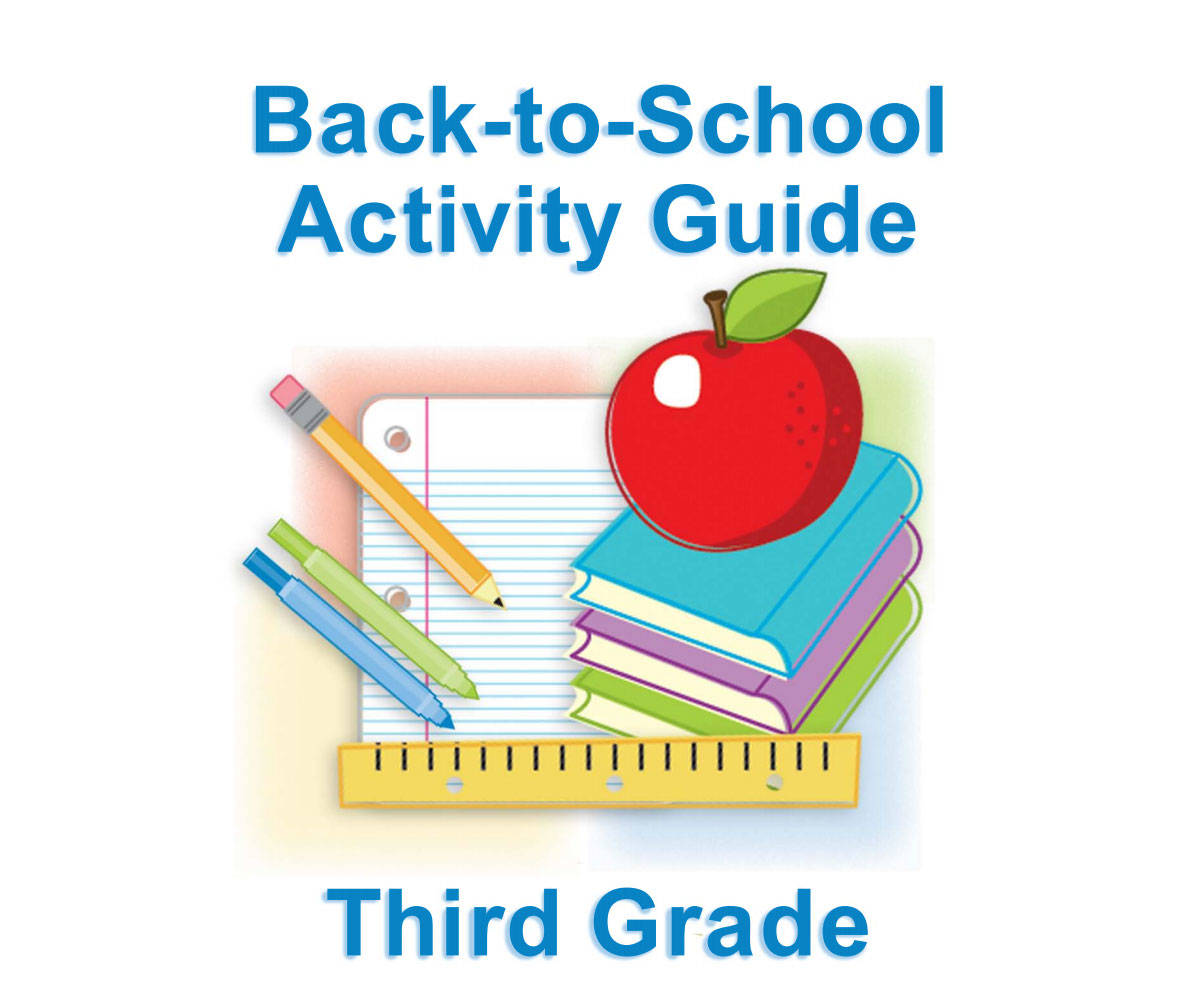 Third Grade Summer Learning For Back To School