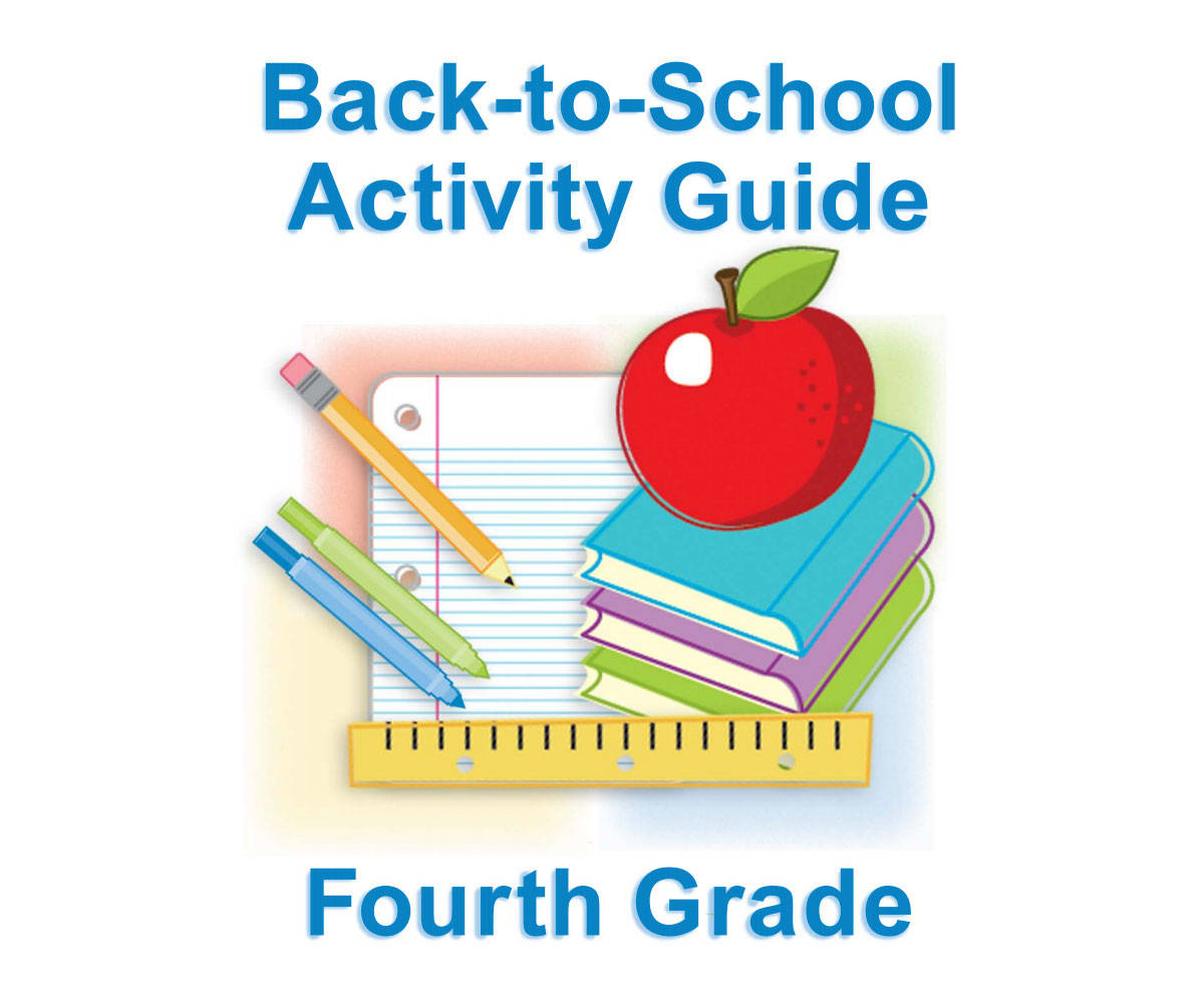 Fourth Grade Summer Learning For Back To School