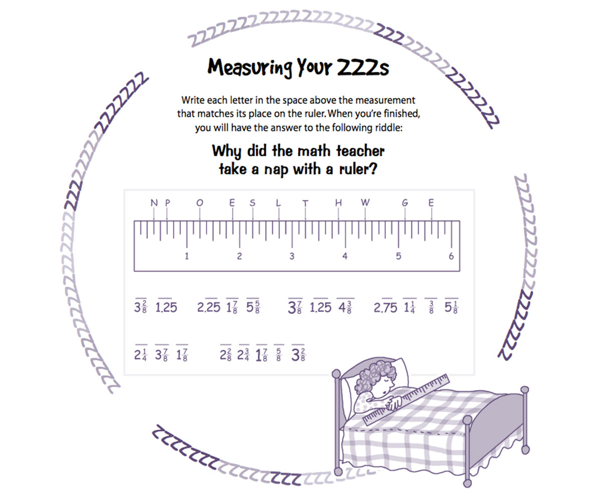 Measuring Worksheet Printable