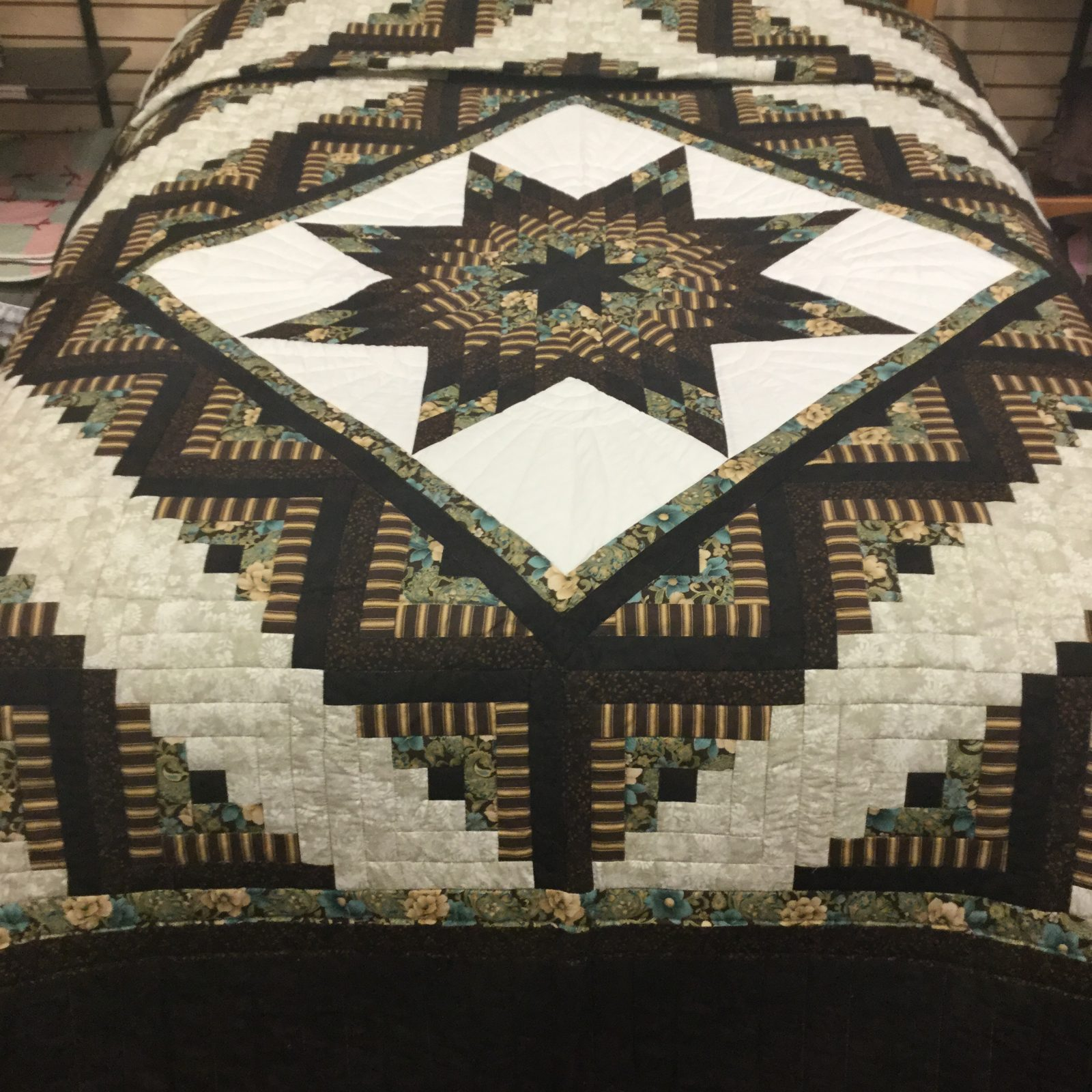 Quilted King Throw Size