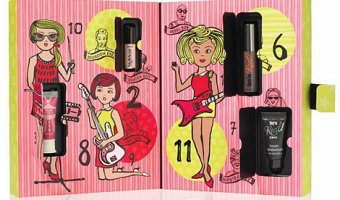 Benefit 'Girl o Clock Rock' 12 Day Advent Calendar