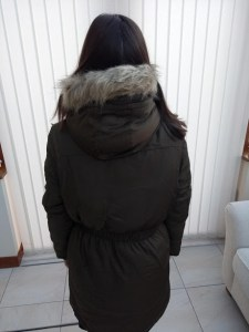 Parka Coat back
