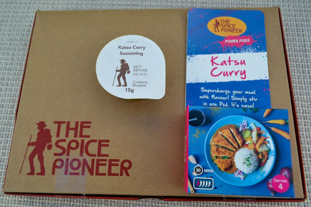 Spice Pioneer Katsu Curry Power Pod Pack
