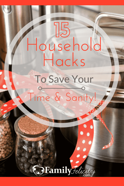 Grab these seriously time saving household hacks to save your sanity!