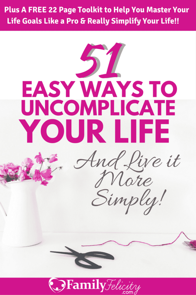 Is your life feeling complicated, hard, and overwhelming? Sometimes we just need to make a few simply adjustments to simplify our life and make it so much more enjoyable! #MomLife #SimpleLife