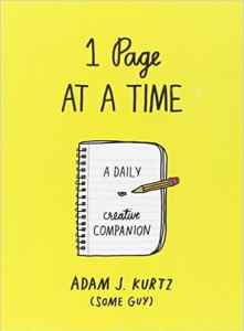 1 Page at a Time: A Daily Creative Companion Diary