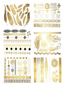 Premium Metallic Tattoos