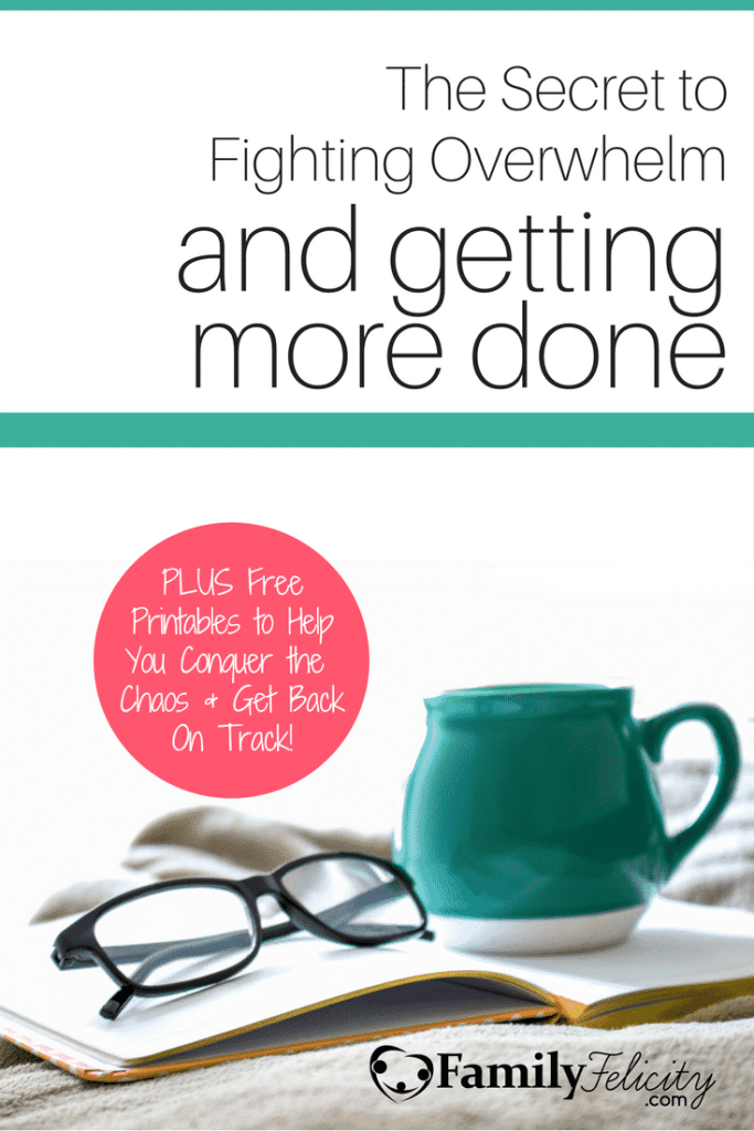 As moms we get overwhelmed most often because we operate outside of the life season you're in or we're not creating the right environment for getting more done efficiently. Click image to learn how to fight overwhelm and get more done!