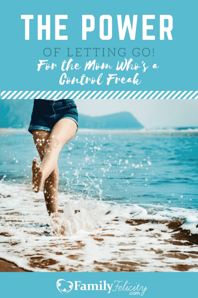 Got control issues? As a busy wife and mom it's hard to let go of the need to control every circumstance we face, but we find true freedom in letting go!