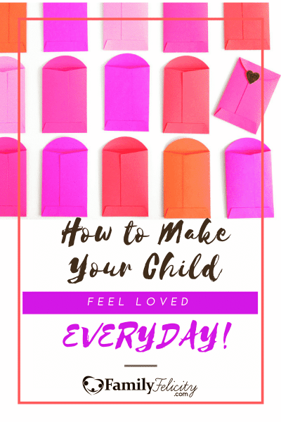 Get 50 ways to make your child feel loved everyday! Plus, each list is broken down into each love language.