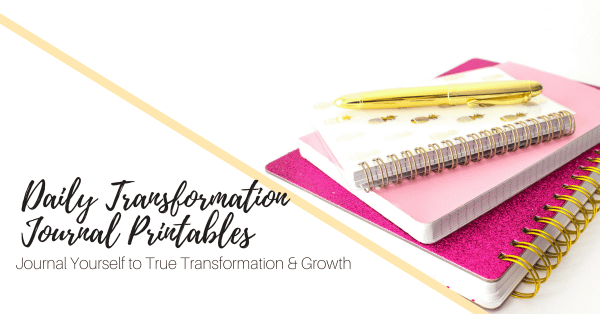 Daily Transformation Journal ad