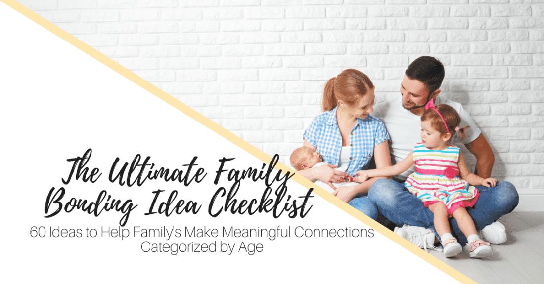 Family Bonding Ideas Checklist Ad (1)