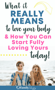 The truth about really Loving your body