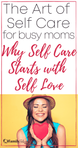 self care for busy moms