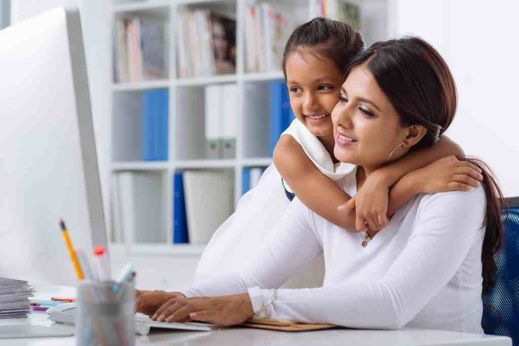 work at home mom success