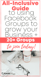 This complete resource will help you use the power of Facebook groups to grow your blog and business fast!