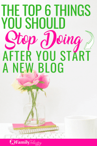 Blogging can be hard especially when you fall right into these super common blogging pitfalls! Find out how to avoid these blogging mistakes and fast track your success instead! #blogger #blogging #bloggersgetsocial