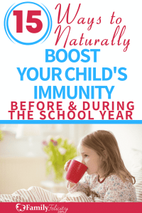It's back to school time and we all want to protect your child's immunity from all the germs that'll come in contact with naturally. #parenting #kidsandparenting #natural #greenliving