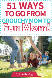 Are you lacking in the fun department lately? Snap out of your mom funk and try these simple ways to be a fun mom! Your kids will thank you! #parenting #kidsandparenting #momlife #motherhood #momadvice