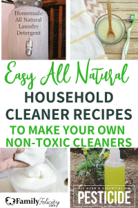 Looking for healthy and natural swaps for your store bought cleaning supplies? These non-toxic cleaning recipes are a safe and healthy alternative! #natural #green #healthandwellness #kidsandparenting