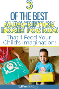These subscription boxes for kids are the perfect cure for boredom and are sure to feed your child's imagination! #kidsandparenting #parenting101 #parentingtips