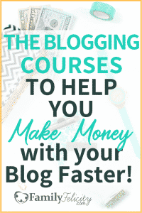 Ready to start making money with your blog but can't seem to make it work? It may be time to finally make an investment in your blog. These are the perfect courses to help you monetize your blog fast! #makemoney #affiliatemarketing #blog #blogger