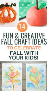 These Fall inspired crafts for kids are the perfect way to celebrate the Fall season and Thanksgiving. Click to get these easy and fun Fall crafts ideas for kids. #kids #Fall #kidsactivities #kidscrafts #diy