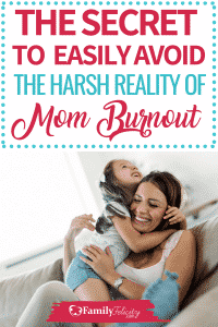 Mom burnout is real and isn't always easy to see coming! Get these simple tips to help you avoid mommy burnout and enjoy motherhood again! #kidsandparenting #parenting #momadvice #kids