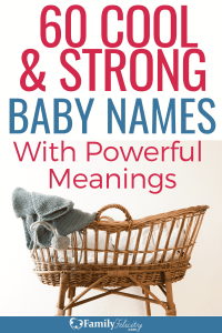 These current 2018 cool and strong baby names are fun and have really powerful meanings too! #kidsandparenting #kids #parenting #parenting101 #parentingtips
