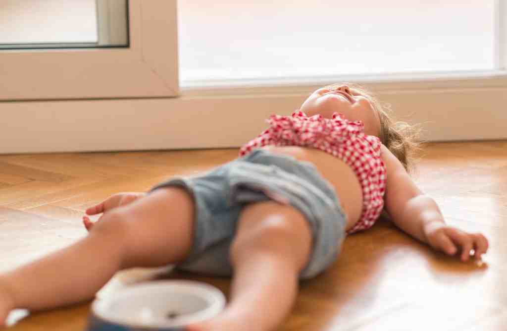 How to stop a temper tantrum