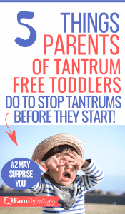 Toddler tantrums are super stressful for parenting! But what if you could have a tantrum-free toddler? Learn what I do to raise tantrum-free toddlers here... #toddlers #kidsandparenting #parenting #momlife