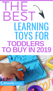 These toys for toddlers are fun but are also great for learning and toddler development! Get the best of list here... #kidsandparenting #parenting #toddlers #kids