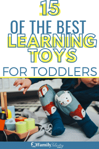 Looking for the best learning toys for toddlers? This list contains only toys that focus on fun AND learning! Perfect for Christmas gifts! #toys #kidsandparenting #parenting #parentingtips #kids