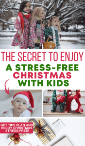 Christmas is supposed to be the season to enjoy and celebrate family. Get the best tips to enjoy a stress-free Christmas with kids! #christmas #holidays #kidsandparenting