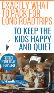Want the secret to keeping kids happy and quiet on long road trips? These packing tips and car toys for kids are everything you need this travel season! #kidsandparenting #parenting