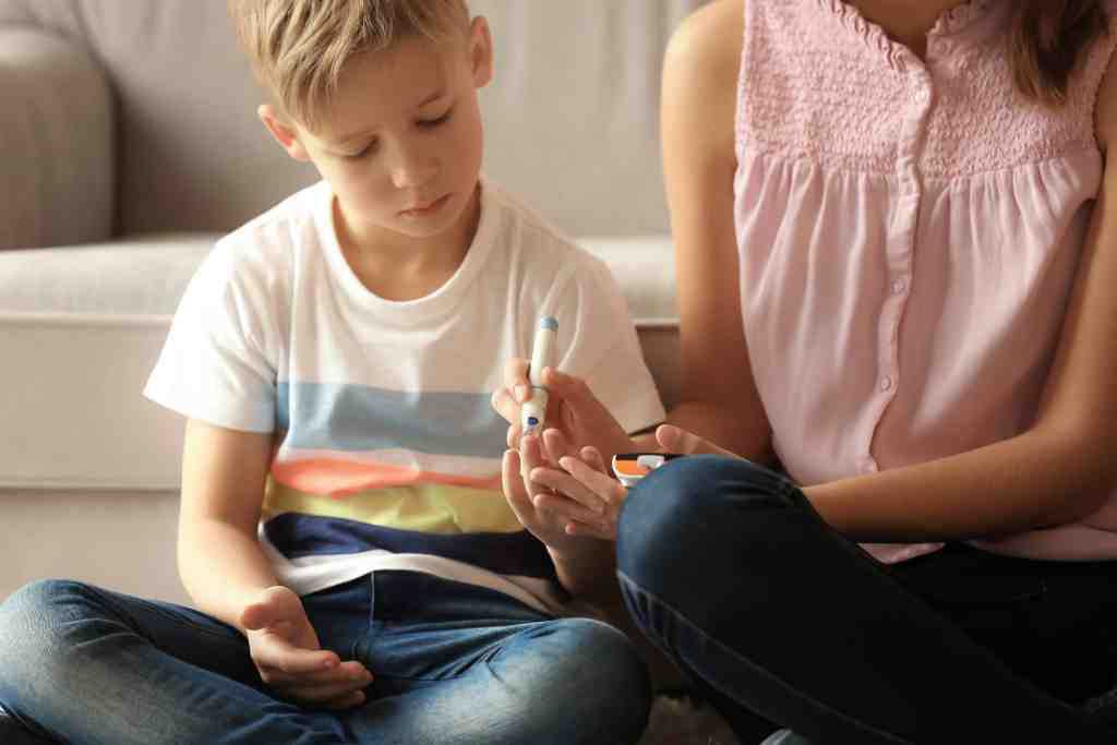 parenting a diabetic child