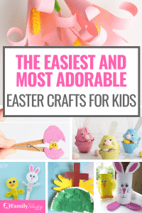 Doing crafts with your kids is a fun way to spend together celebrating the holidays. These cute ideas are such fun Easter crafts to do with your Kids. #easter #crafts #craftsforkids #activities
