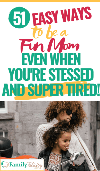 These simple tips will help you overcome the habit of being uptight and grouchy and give you real simple ways to have more fun as a mom! How to spend more fun time with your kids! #funmom #kidsandparenting #parenting #motherhood #momlife