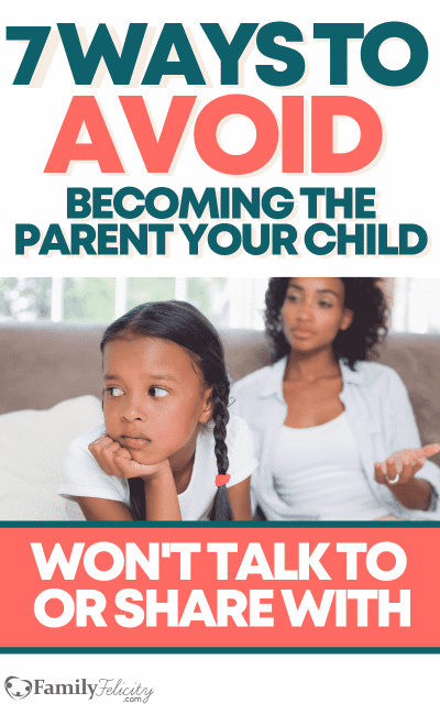 We want our kids to share all their deepest hopes, fears, and struggles... but there are a lot of reasons why they don't and share them with someone else. Learn the behaviors we might be doing that's costing us a close relationship with our kids! #kidsandparenting #parenting