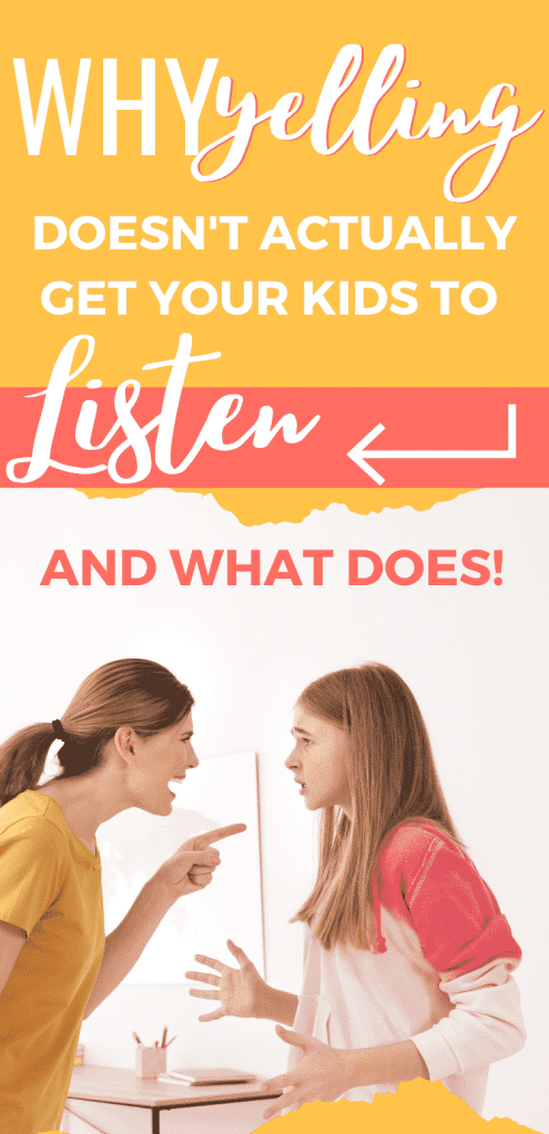 Getting your kids to listen without yelling is easier than you think. There are simple things we must do and be consistent to see amazing results!