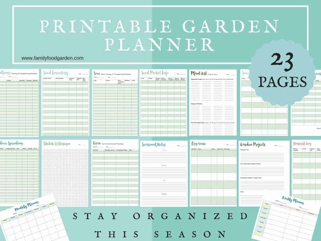 Free Garden Planner For Vegetable Garden Planning