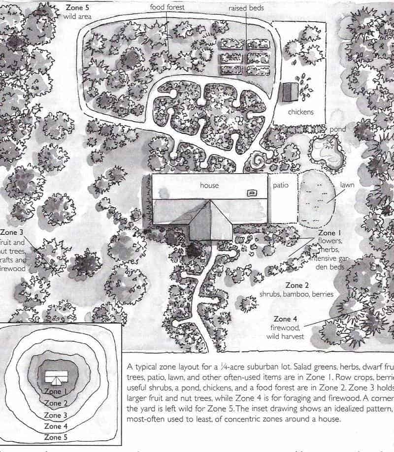 Backyard Permaculture Design & Tips | Family Food Garden on Backyard Permaculture Design id=46382