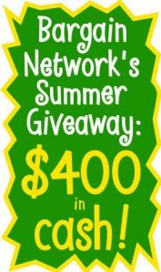 Bargain Network Giveaway