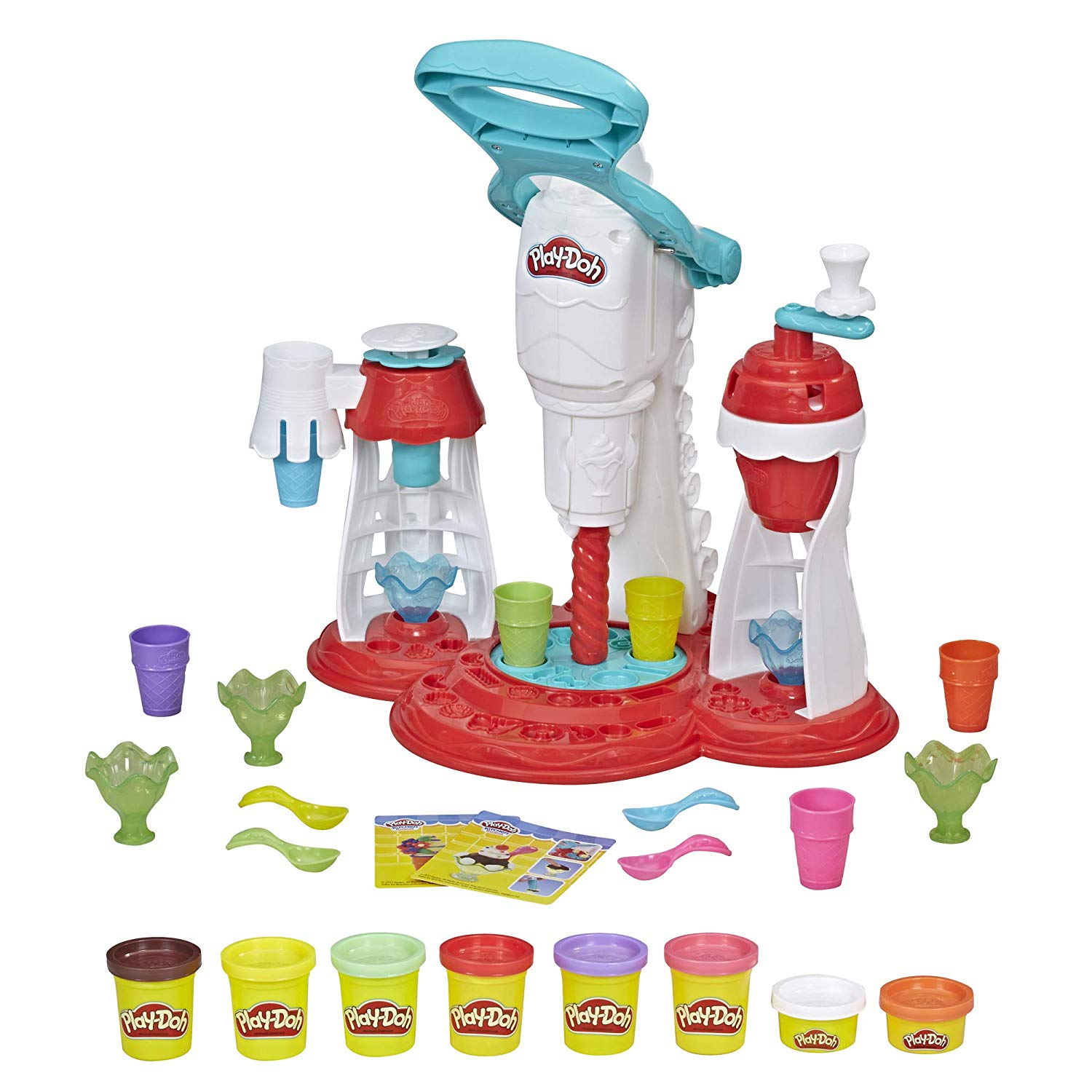 Play Doh Kitchen Creations Ultimate Swirl Ice Cream Maker