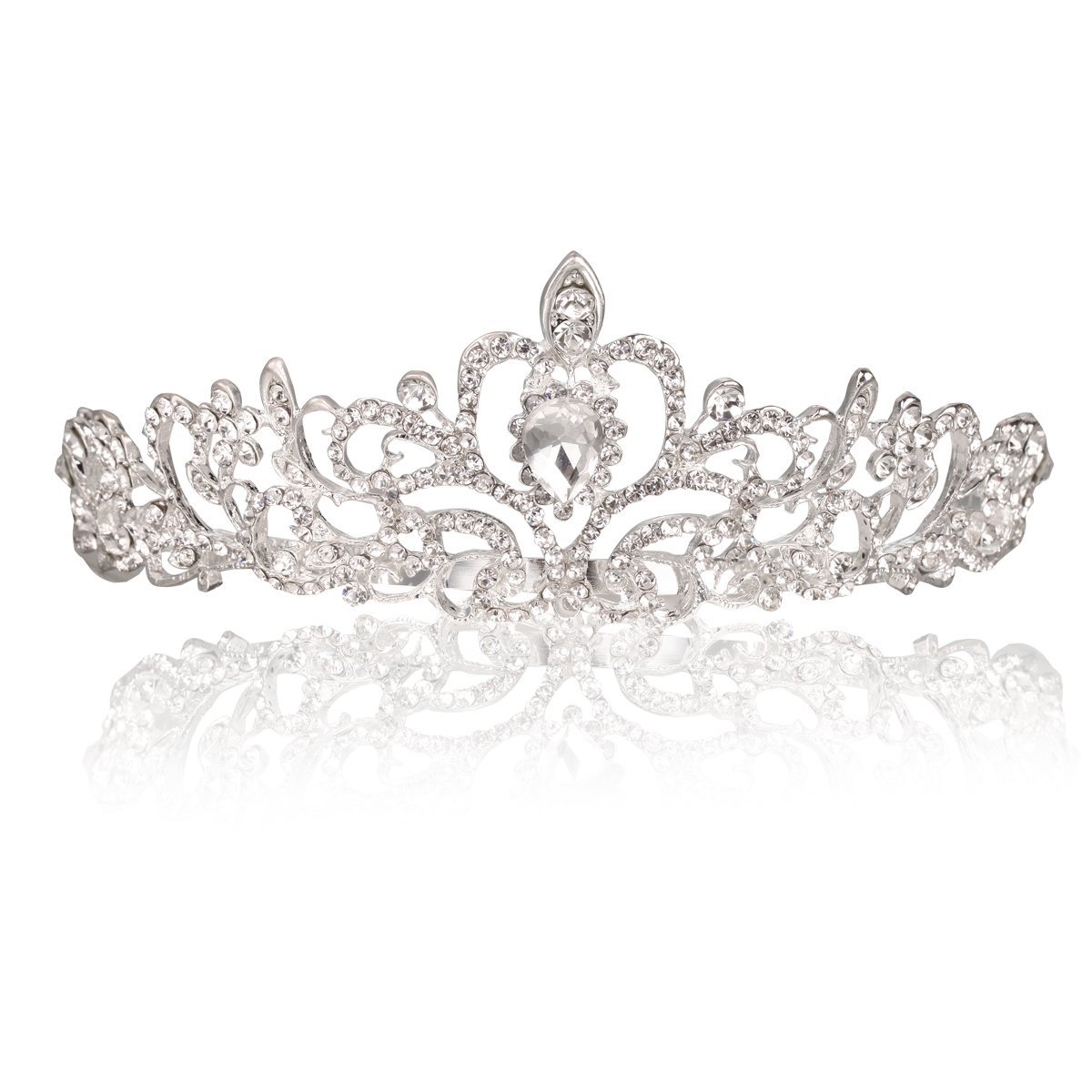 Highly Rated Makone Crystal Crowns And Tiaras