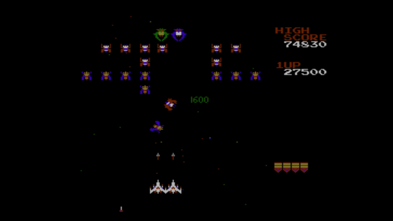 Galaga Screenshots Family Friendly Gaming