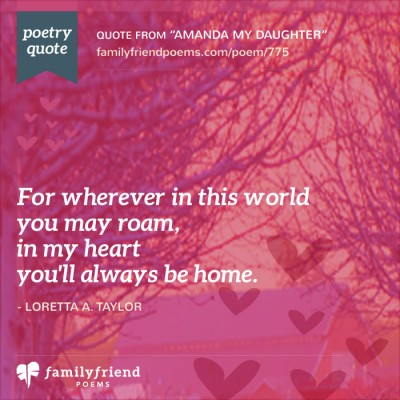 53 Daughter Poems Loving Mother And Father Poems For